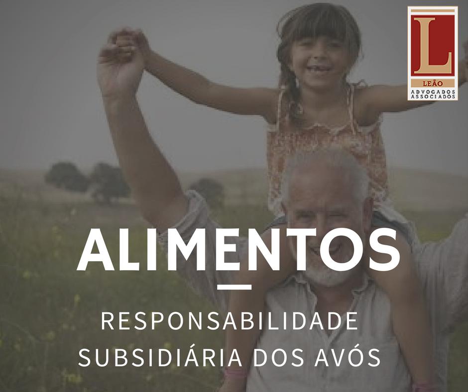 AÇÃO DE ALIMENTOS e a Responsabilidade dos avós